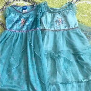 Frozen Elsa nightgown